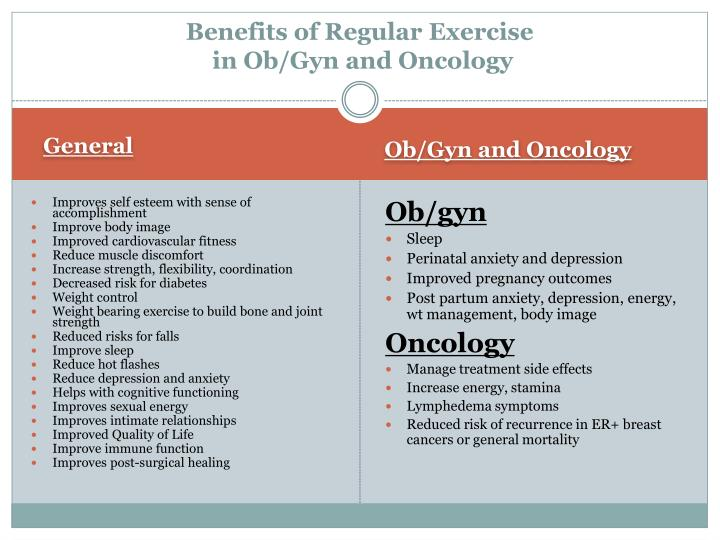 Benefits of Regular Exercise