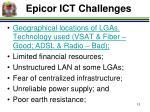 epicor ict challenges