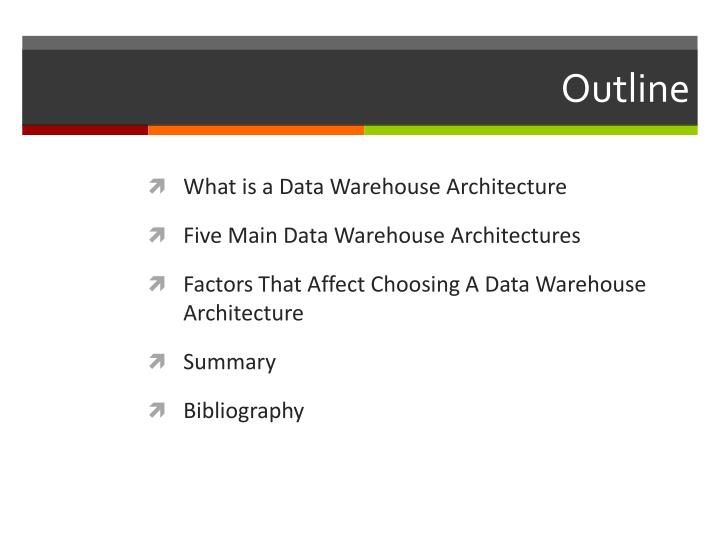 Data warehouse definition ppt