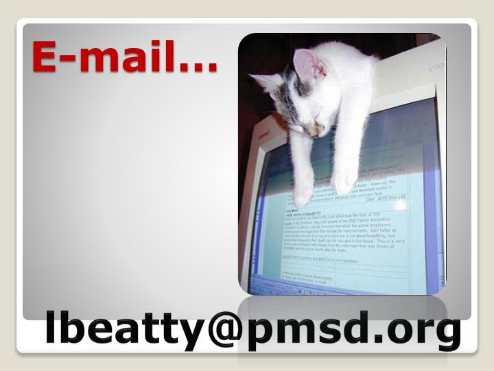 E-mail…