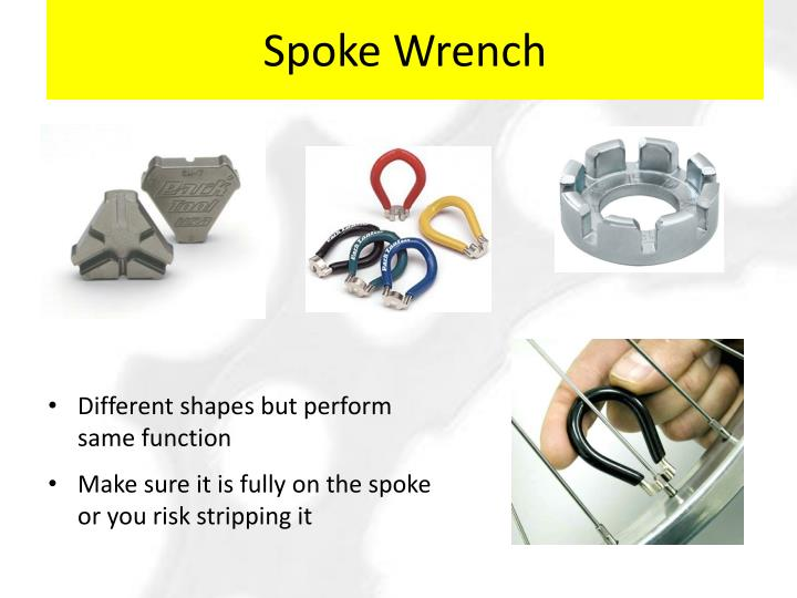 Spoke Wrench
