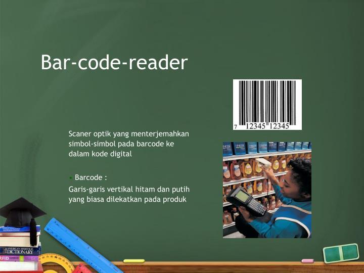 Bar-code-reader