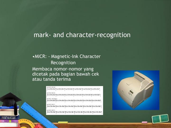 mark-