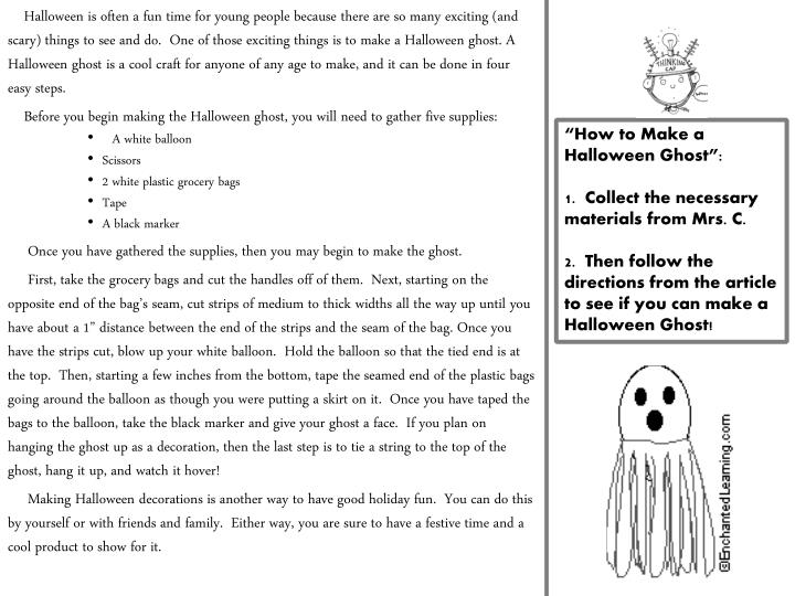 Halloween is often a fun time for young people because there are so many exciting (and scary) things to see and do.  One of those exciting things is to make a Halloween ghost. A Halloween ghost is a cool craft for anyone of any age to make, and it can be done in four easy steps.