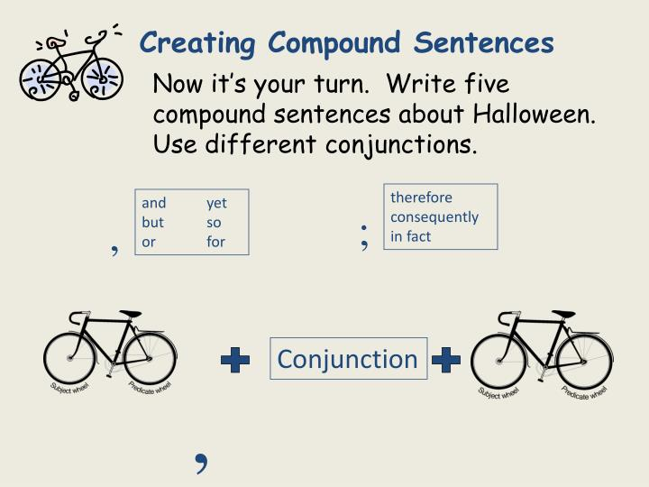 Creating Compound Sentences