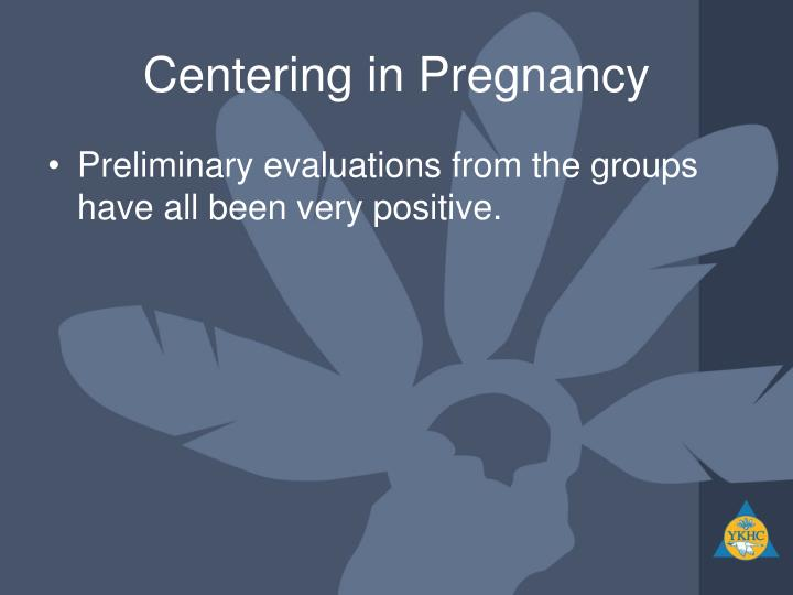 Centering in Pregnancy