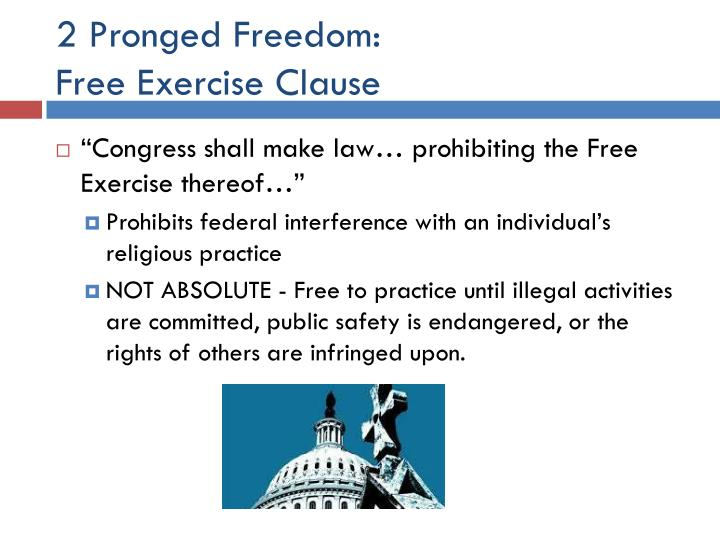 2 Pronged Freedom: