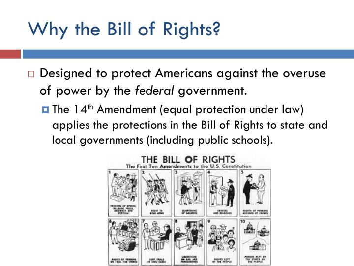 Why the bill of rights