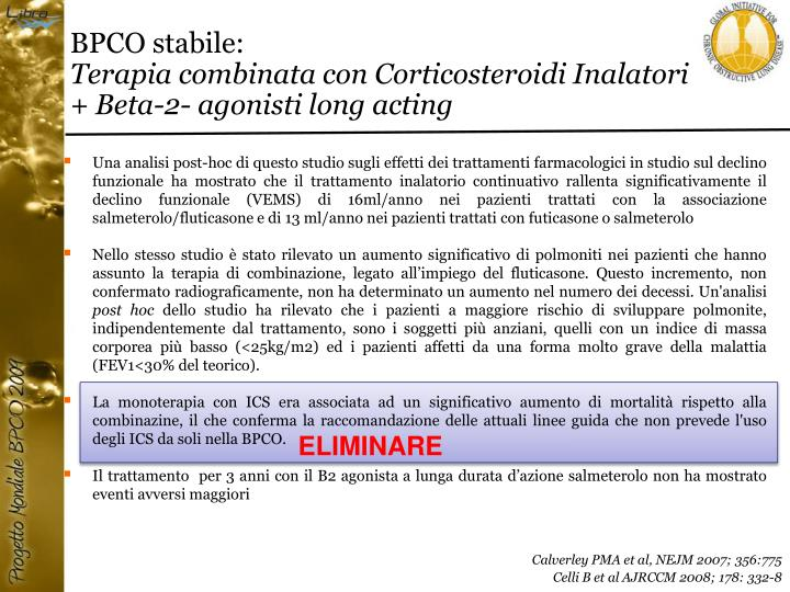 BPCO stabile:
