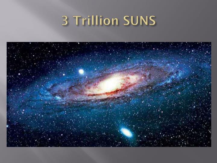 3 Trillion SUNS