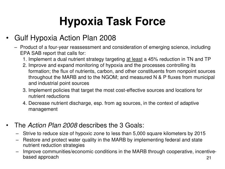 Hypoxia Task Force