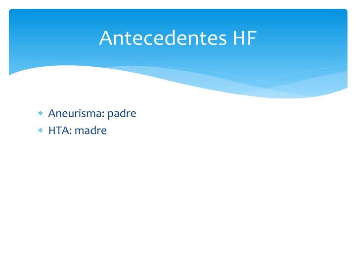 Antecedentes HF