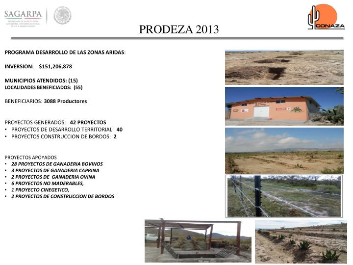 PRODEZA 2013