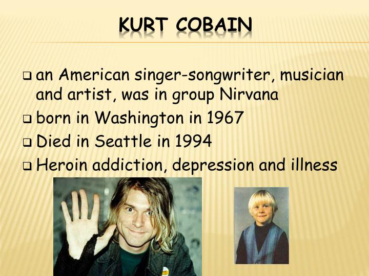 an American singer-songwriter, musician and