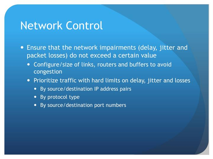 Network Control