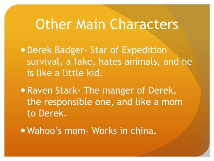 Other Main Characters