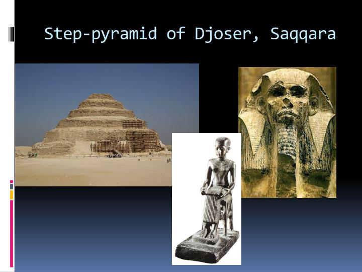 Step-pyramid of