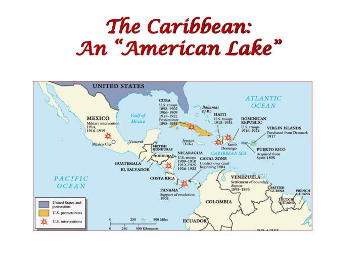 The Caribbean: