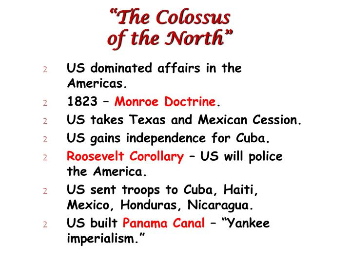"""The Colossus"