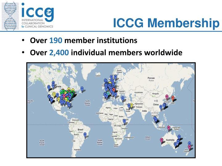 ICCG Membership