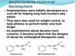 amphetamines historical development