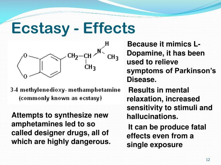 Ecstasy - Effects