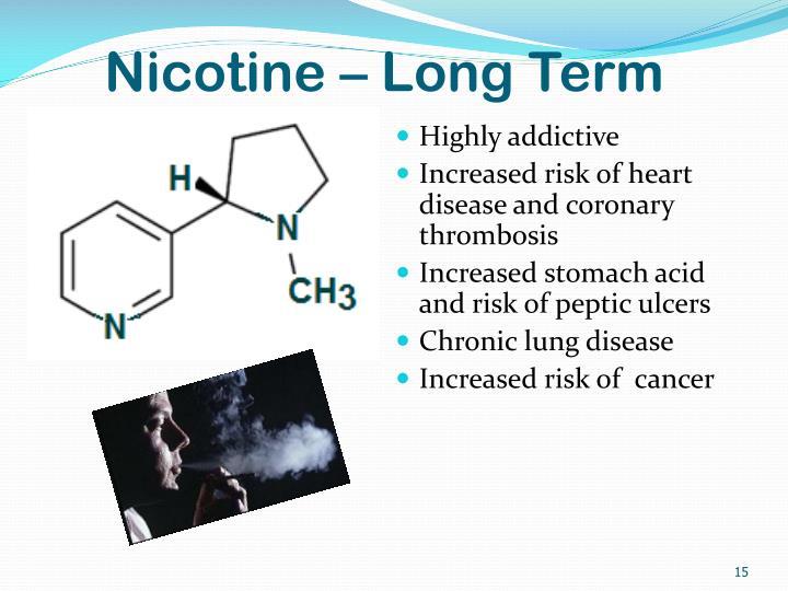 Nicotine – Long Term