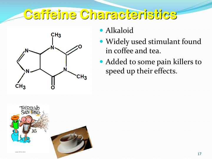 Caffeine Characteristics