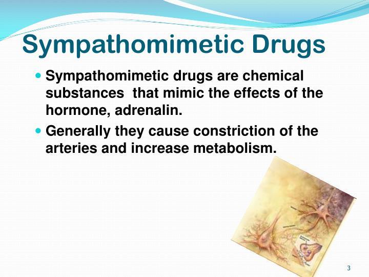 Sympathomimetic