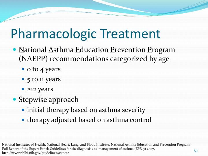 Pharmacologic Treatment