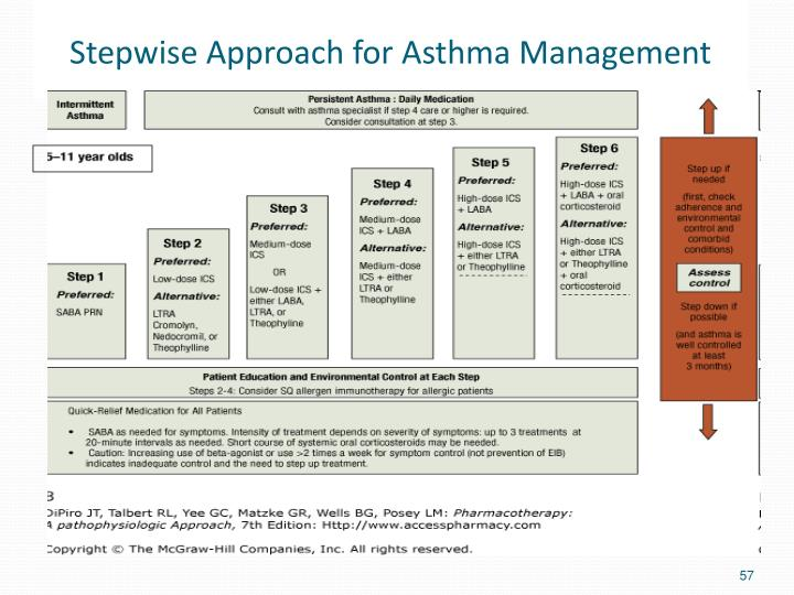 Stepwise Approach for Asthma Management