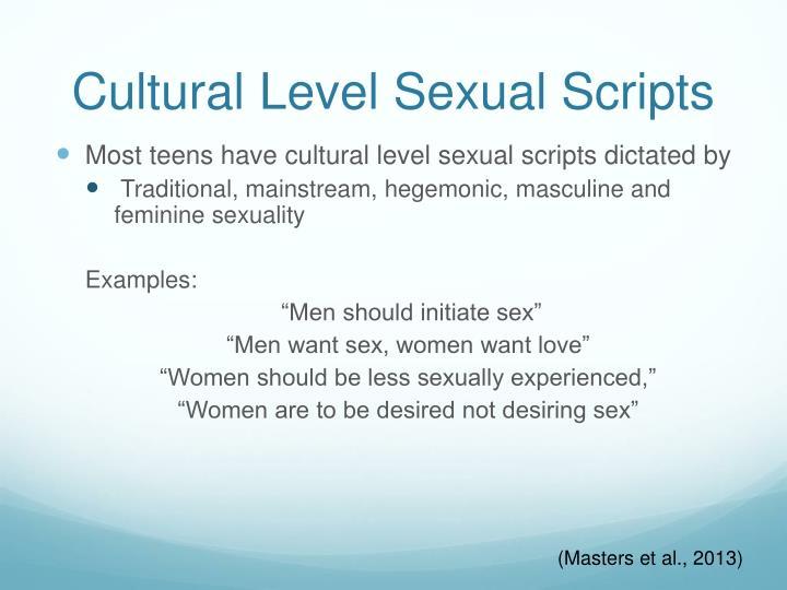 Cultural Level Sexual