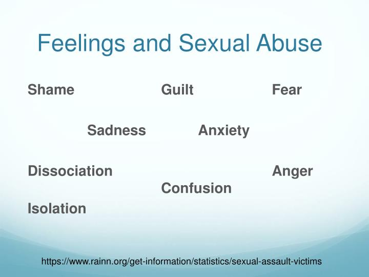 Feelings and Sexual Abuse