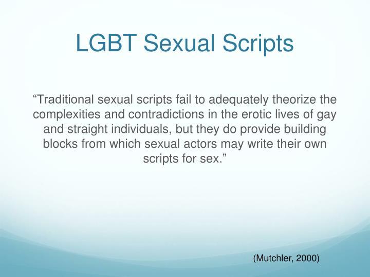 LGBT Sexual Scripts