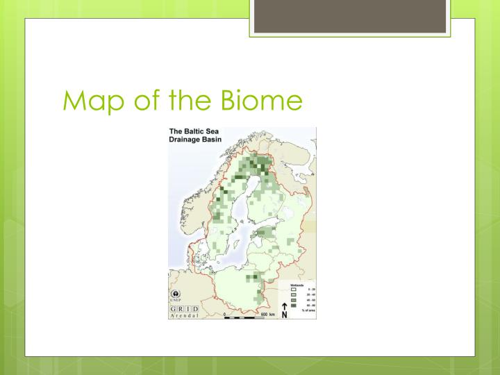 Map of the Biome