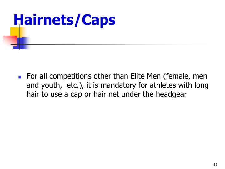 Hairnets/Caps