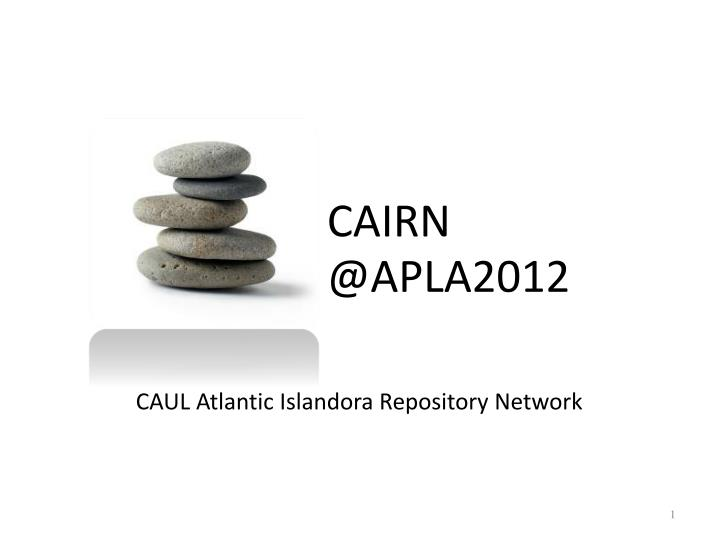 Cairn @apla2012