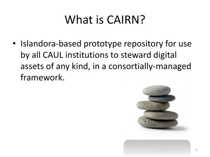 What is CAIRN?