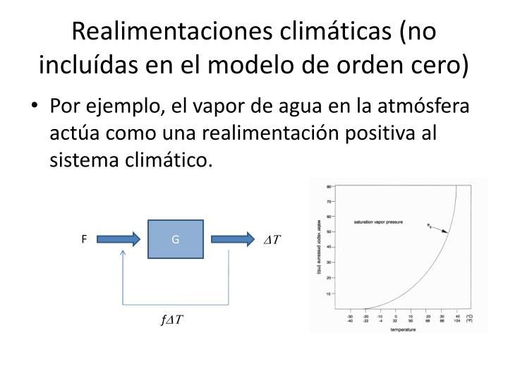 Realimentaciones climáticas (no