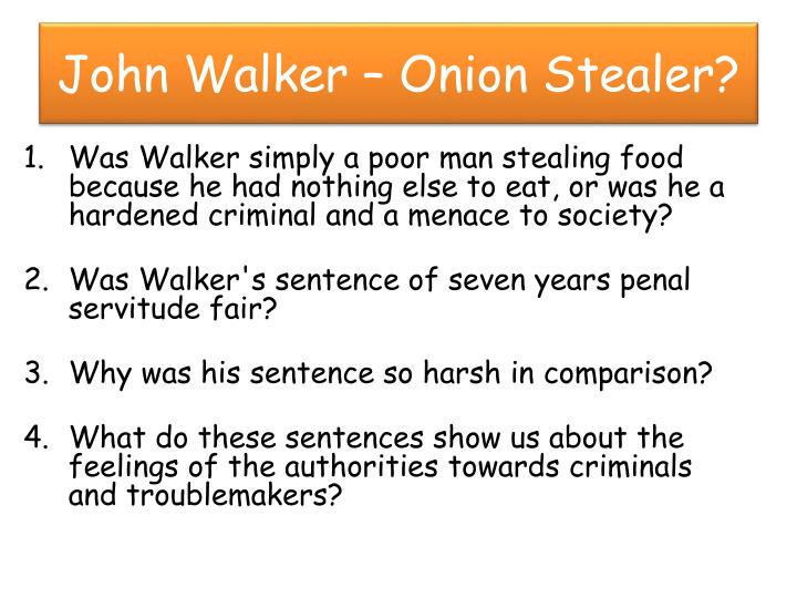 John Walker – Onion Stealer?