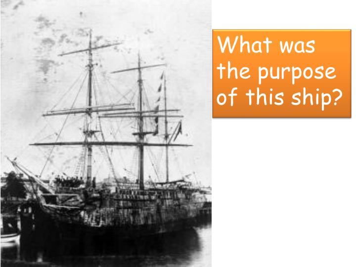What was the purpose of this ship?