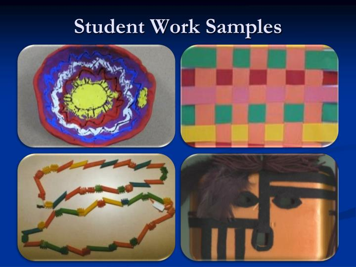Student Work Samples