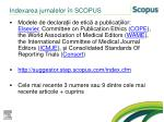 indexarea jurnalelor n scopus