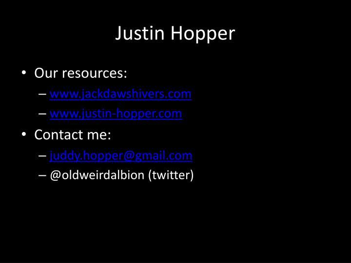Justin Hopper