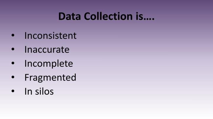 Data Collection is….