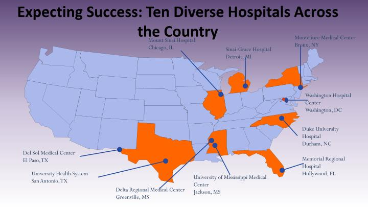 Expecting Success: Ten Diverse Hospitals Across the Country