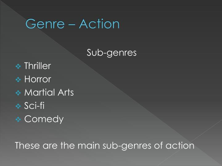 Genre – Action