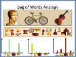 bag of words analogy1