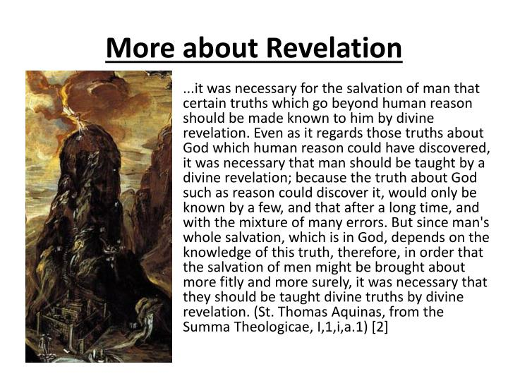 More about Revelation
