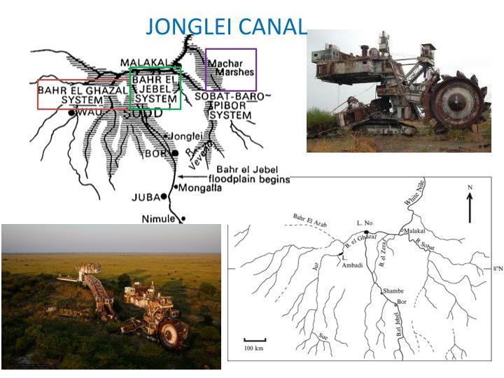 JONGLEI CANAL